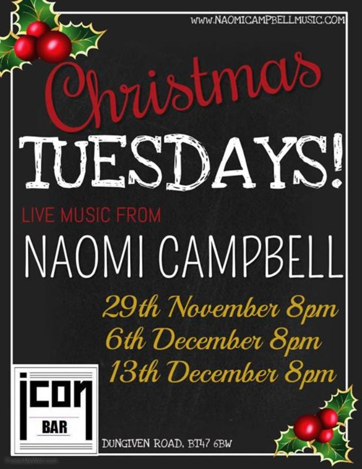 Naomi Campbell Music @ Icon Bar  - Londonderry, United Kingdom