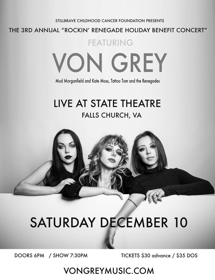 Von Grey @ State Theatre - Falls Church, VA