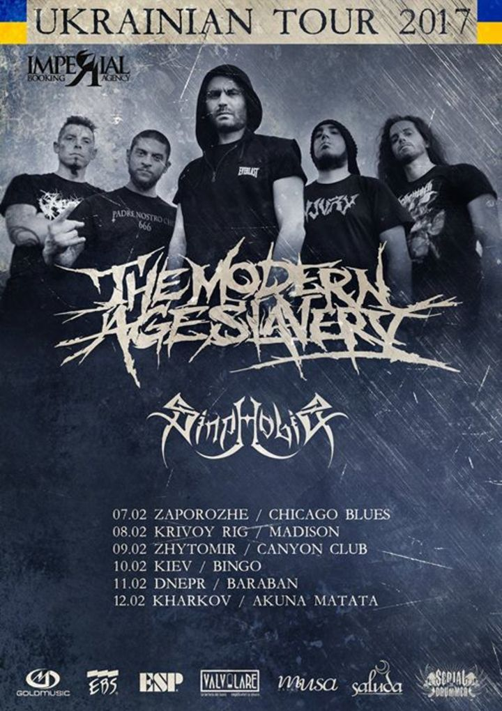 The Modern Age Slavery Tour Dates