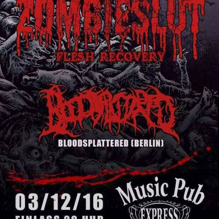 Bloodsplattered Tour Dates