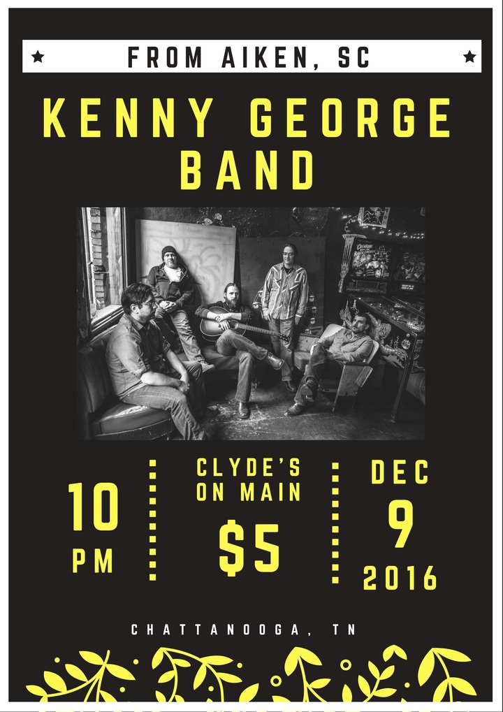 Kenny George Band @ Clyde's on Main - Chattanooga, TN