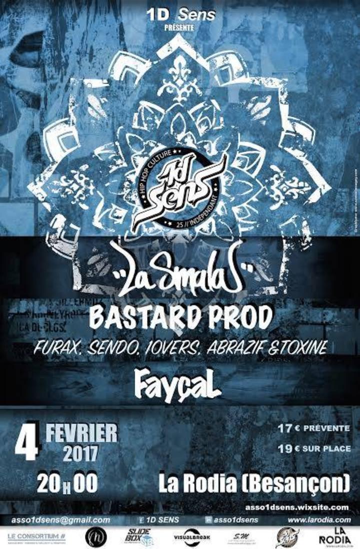 Faycal @ La Rodia Grande Salle - Besançon, France