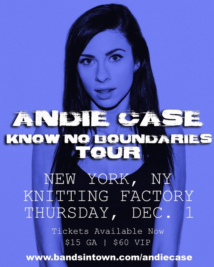 Andie Case @ Knitting Factory - Brooklyn, NY