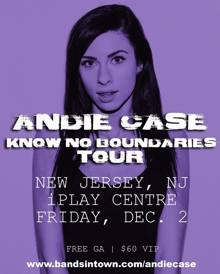 Andie Case @ iPlay Centre - Freehold, NJ