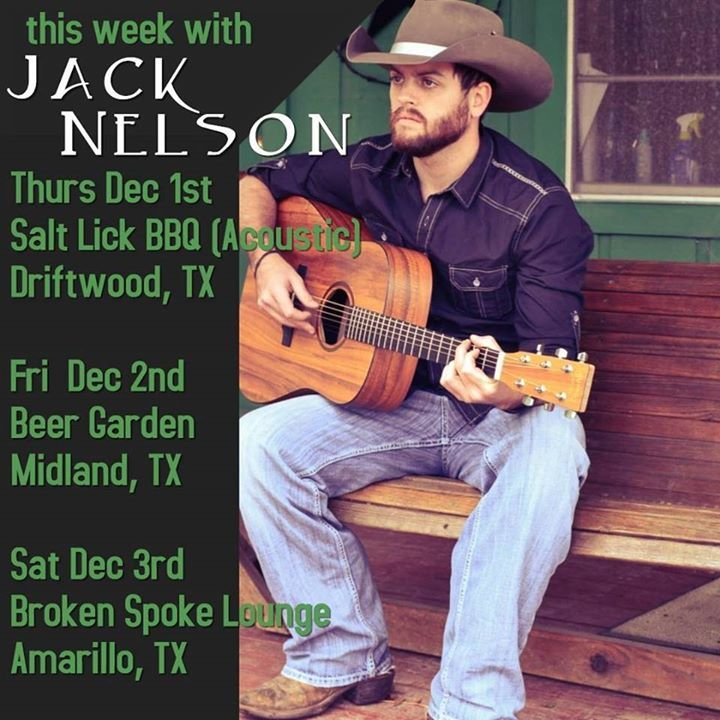 Jack Nelson Band @ Roughneck's Saloon - Aguilar, CO