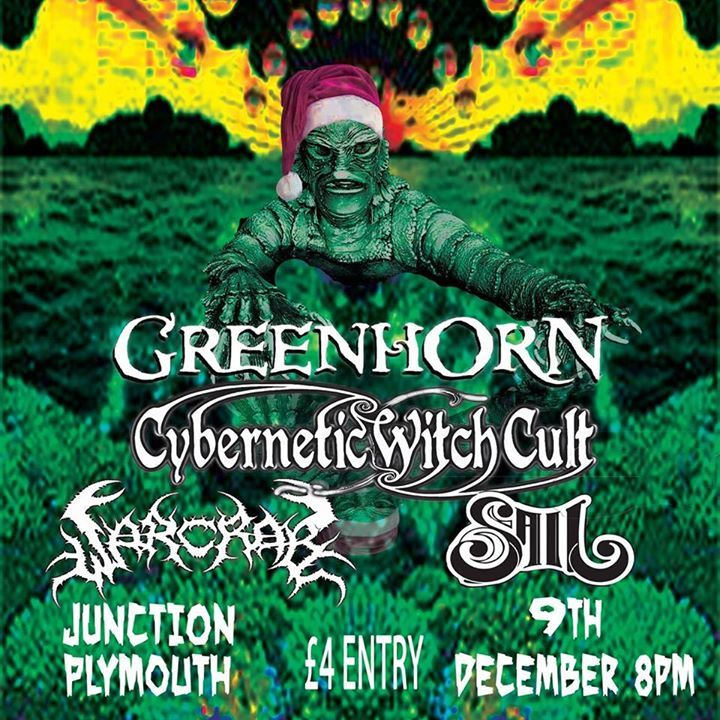 Cybernetic Witch Cult @ The Black Market Venue - Warsop, United Kingdom