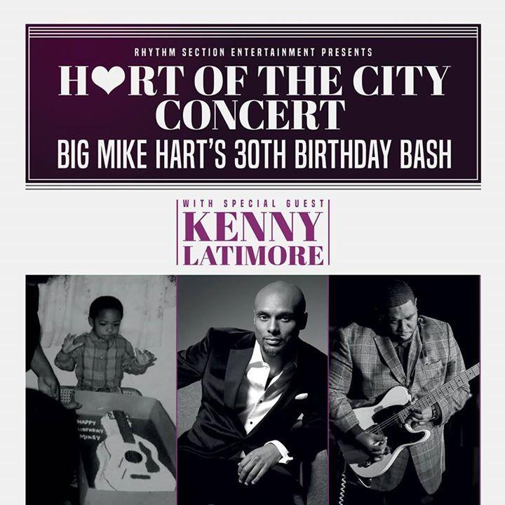 Big Mike Hart Tour Dates