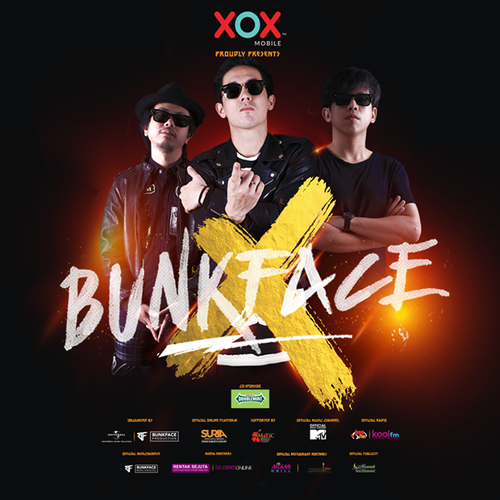 BUNKFACE! Tour Dates