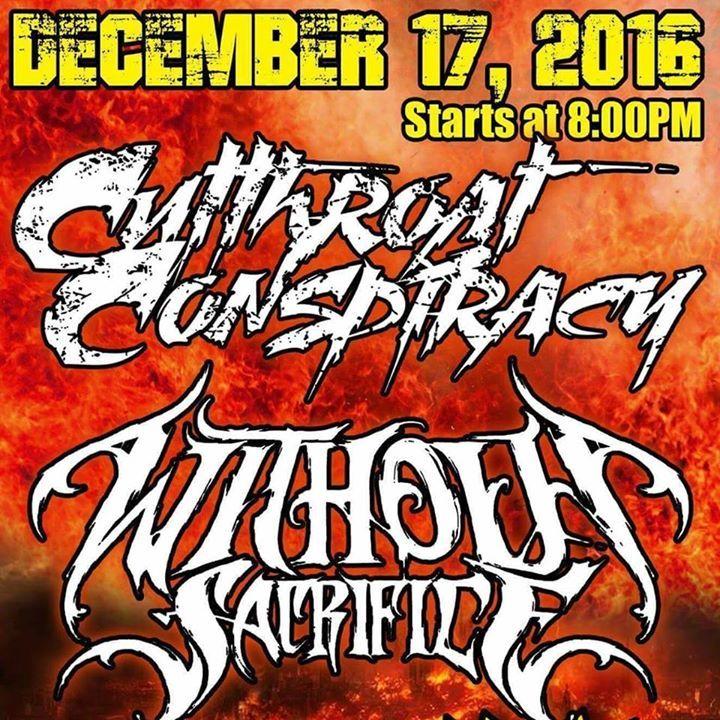 Without Sacrifice Tour Dates