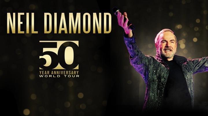 Neil Diamond @ Wells Fargo Arena  - Des Moines, IA