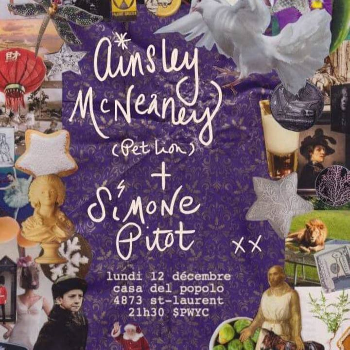 Ainsley McNeaney Tour Dates