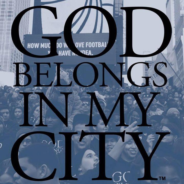 God Belongs In My City Tour Dates
