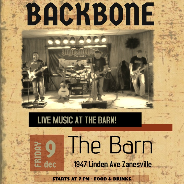 Backbone @ The Barn - Zanesville, OH