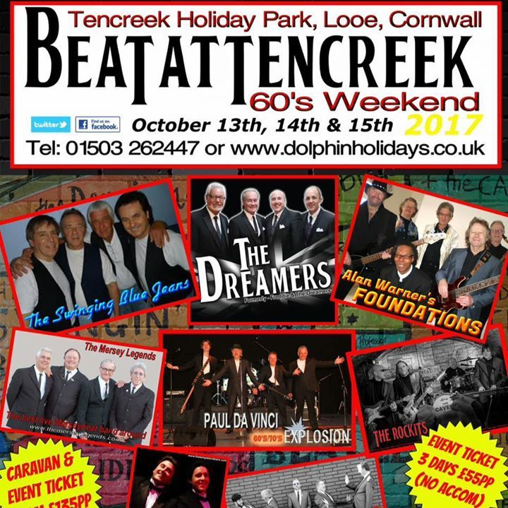 BEAT at Tencreek Weekender Tour Dates