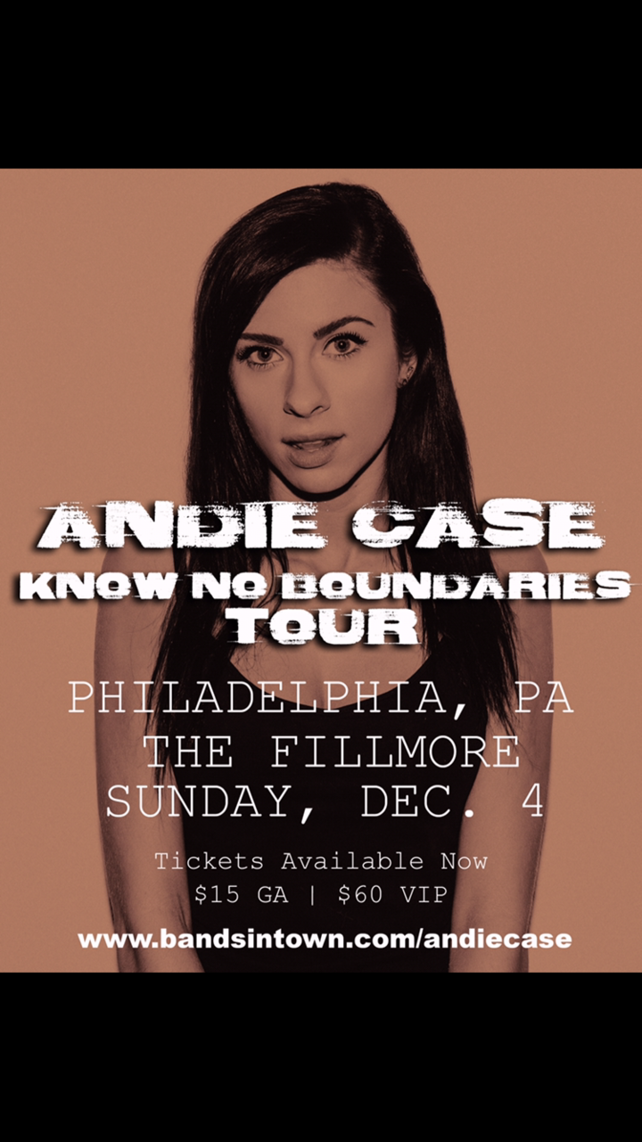 Andie Case @ The Fillmore  - Philadelphia, PA
