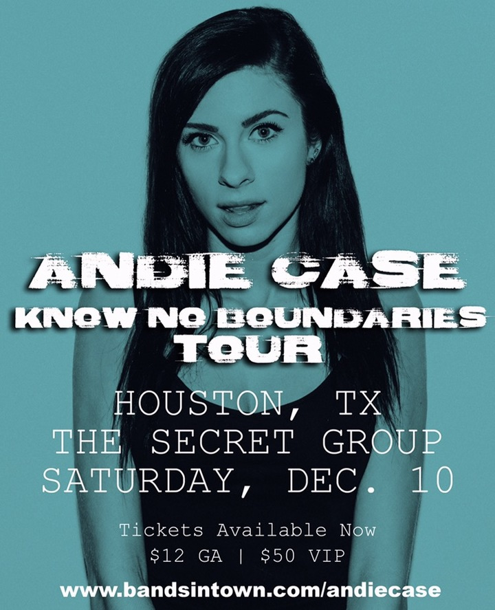 Andie Case @ The Secret Group - Houston, TX