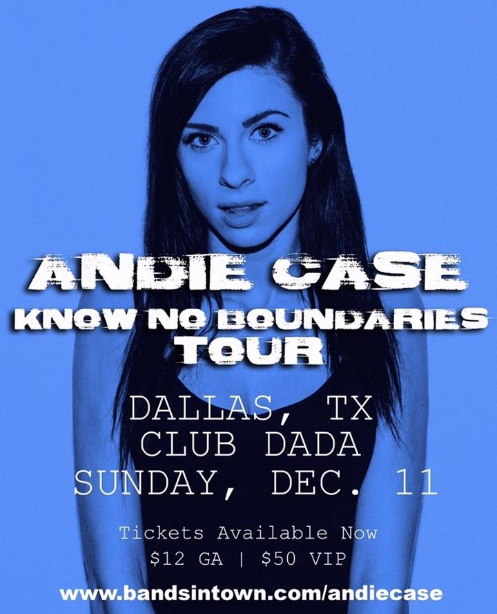 Andie Case @ Club Dada - Dallas, TX