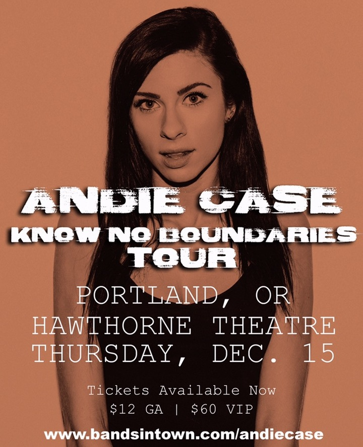 Andie Case @ Hawthorne Theatre - Portland, OR