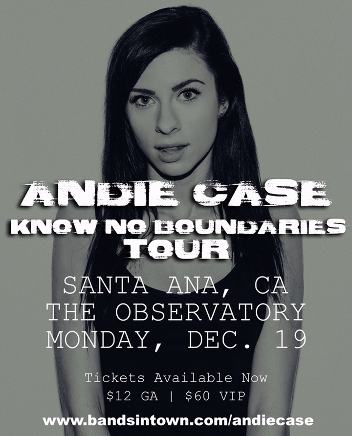 Andie Case @ The Observatory  - Santa Ana, CA