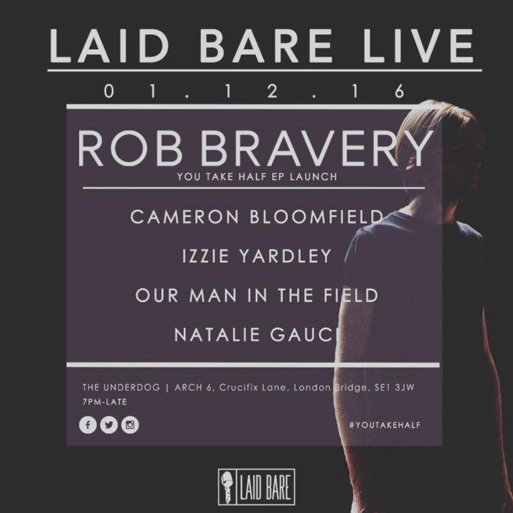 Rob Bravery Tour Dates