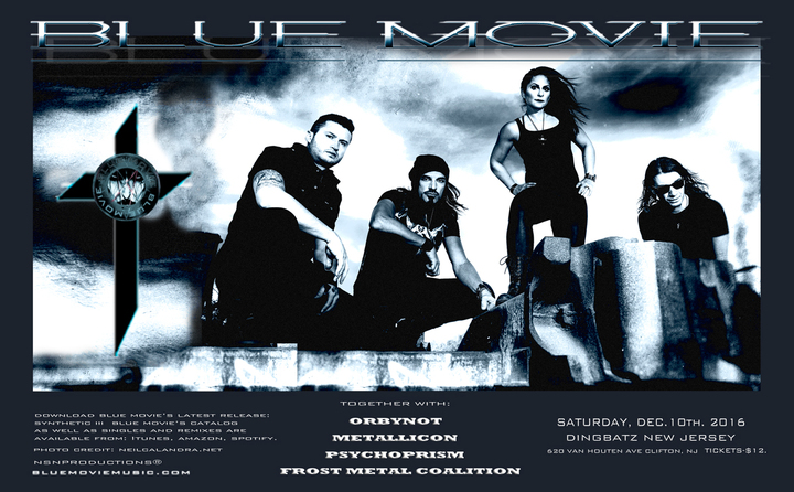 Blue Movie @ Dingbatz - Clifton, NJ