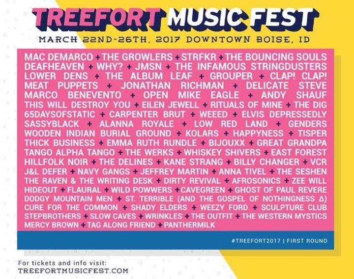 Deafheaven @ Treefort Music Fest - Boise, ID