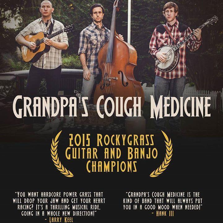 Grandpa's Cough Medicine Tour Dates