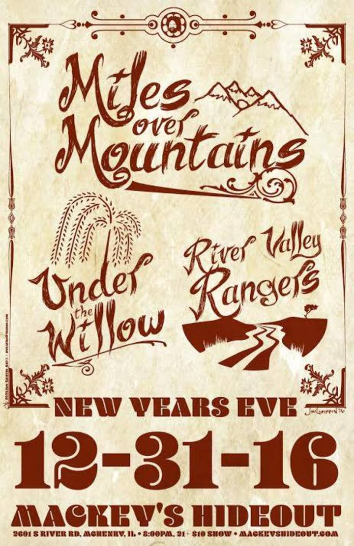 Miles Over Mountains Tour Dates