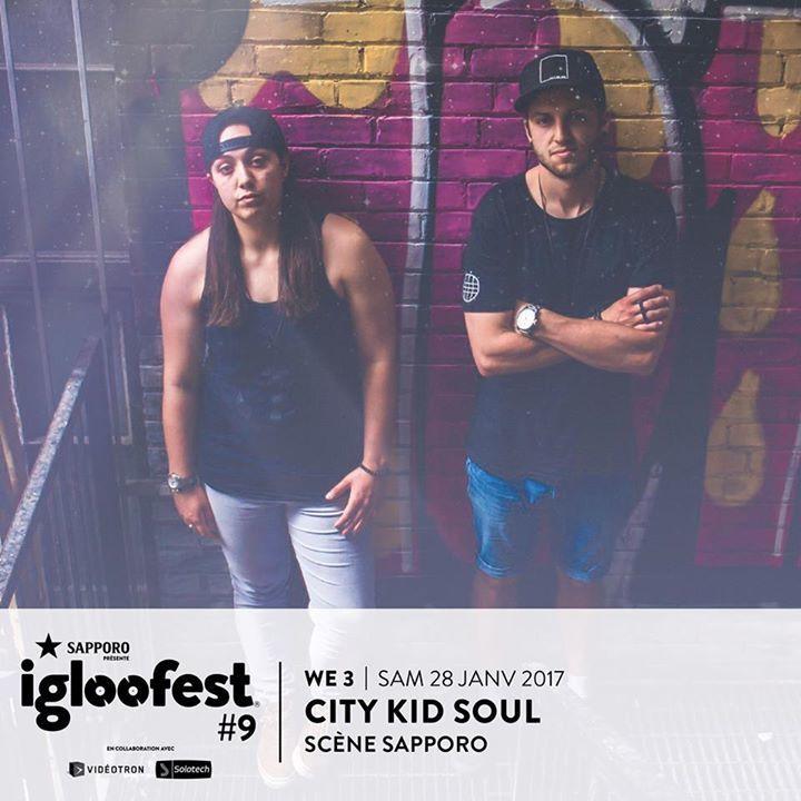 City Kid Soul Tour Dates
