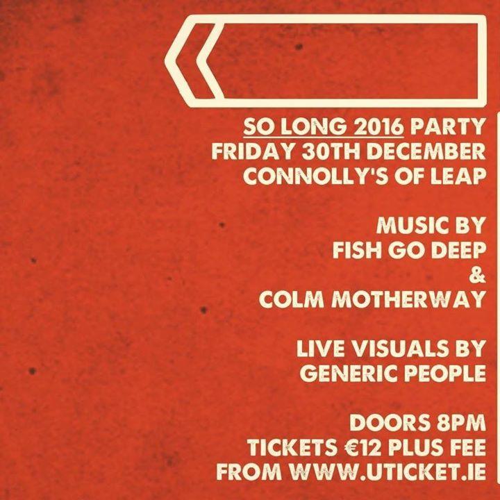 Fish Go Deep Tour Dates