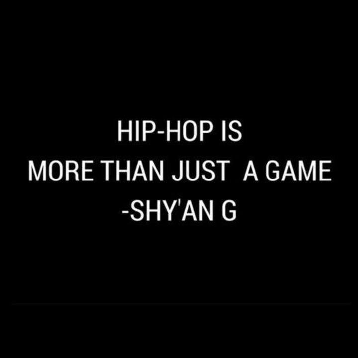 Shy'An G Tour Dates