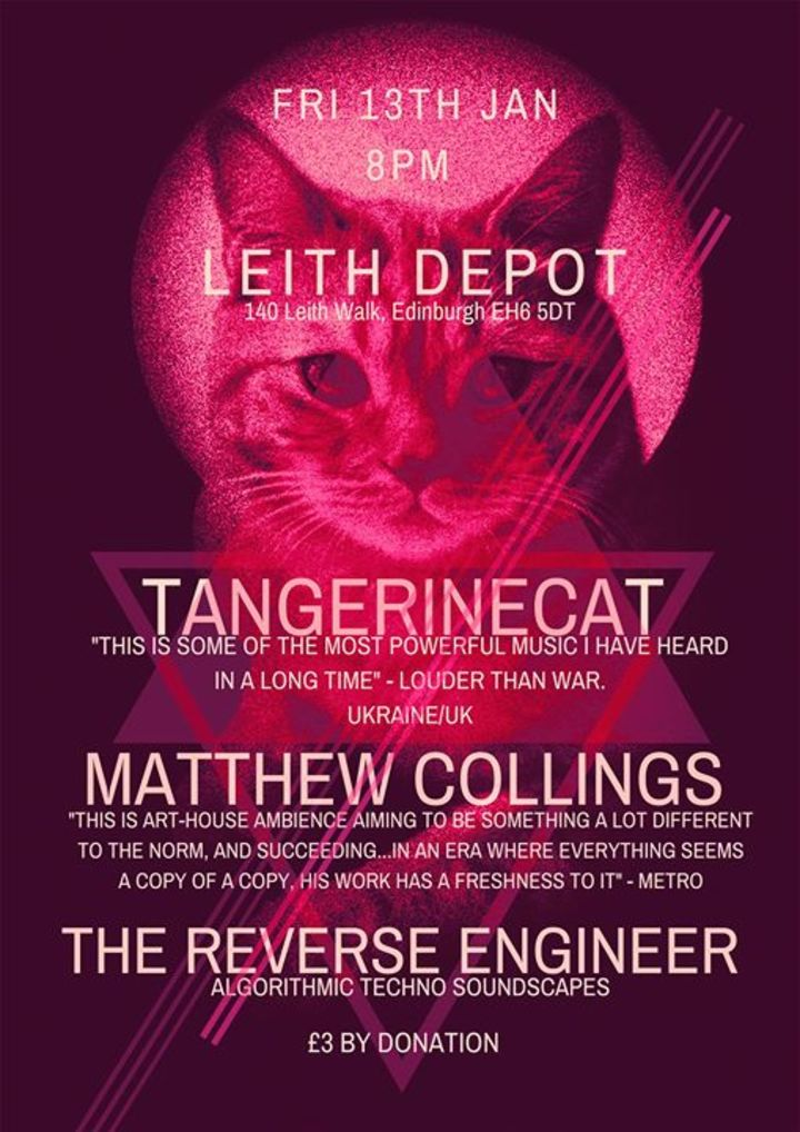 Tangerinecat @ The Castle - Manchester, United Kingdom