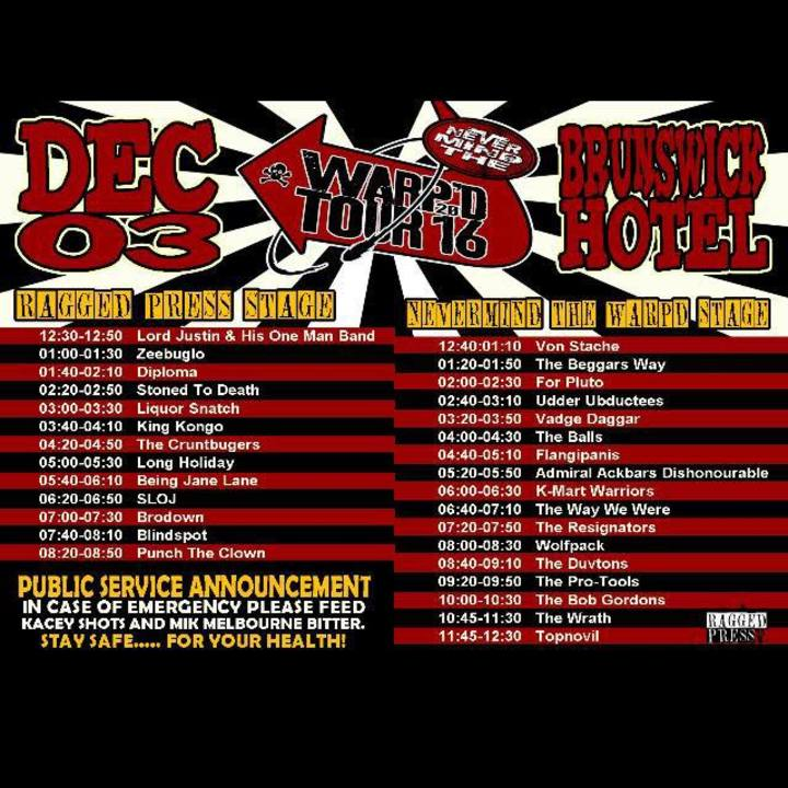 The Duvtons Tour Dates