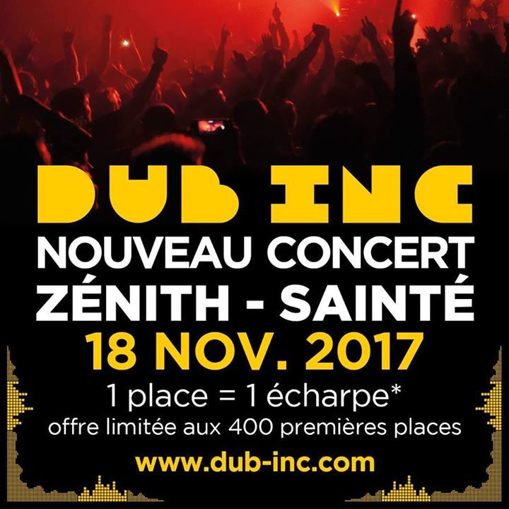 Dub Inc @ Salle des fêtes de Thônex - Thônex, Switzerland