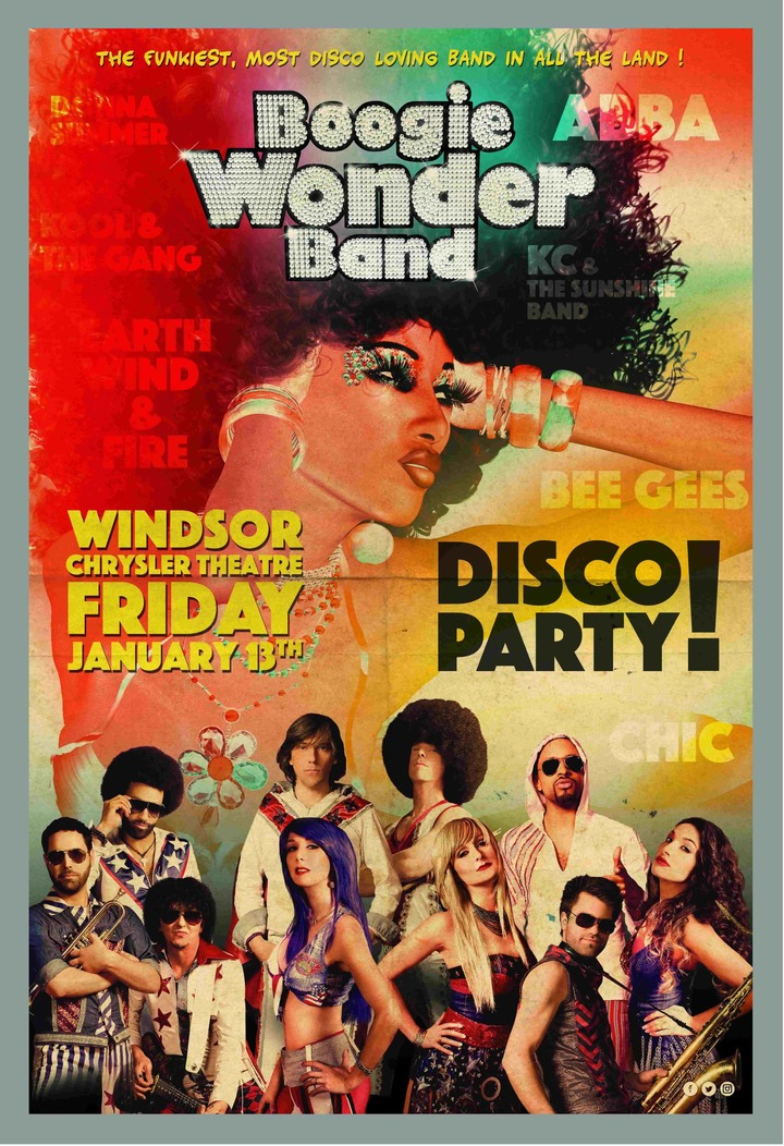 Boogie Wonder Band @ Chrysler Theatre - Windsor, Canada