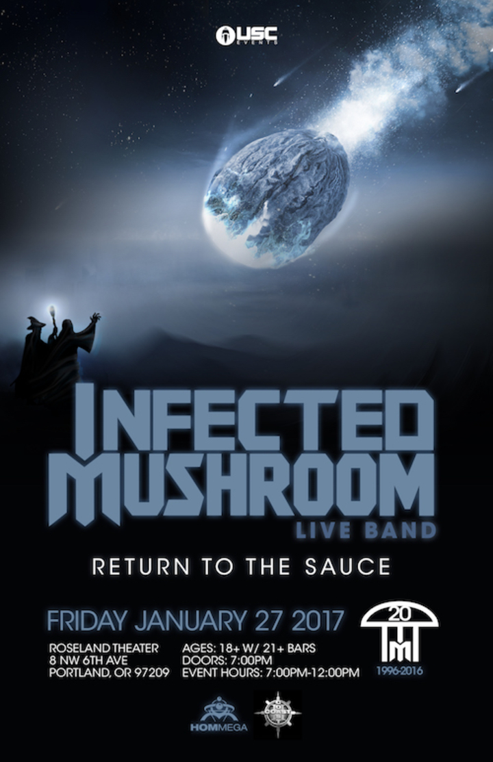Infected Mushroom @ Roseland Theater - Portland, OR