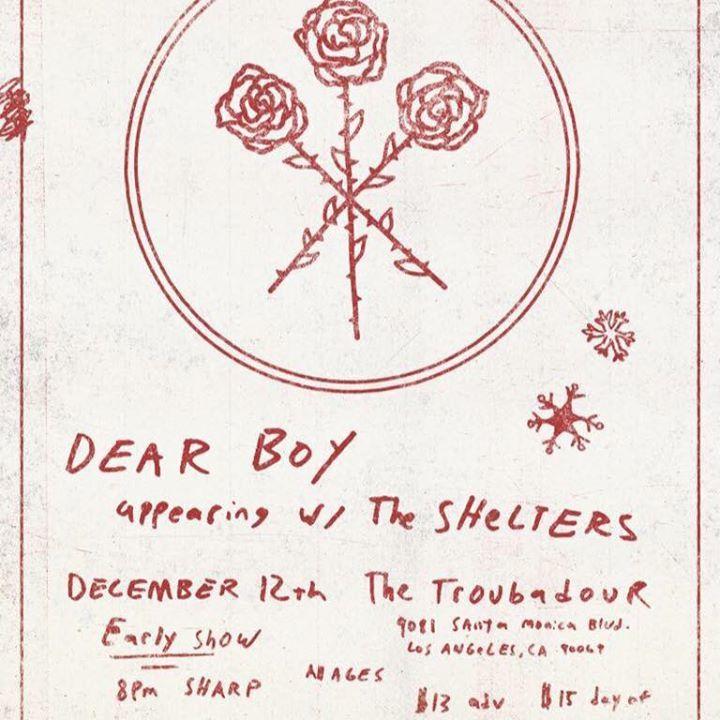 Dear Boy Fans Tour Dates