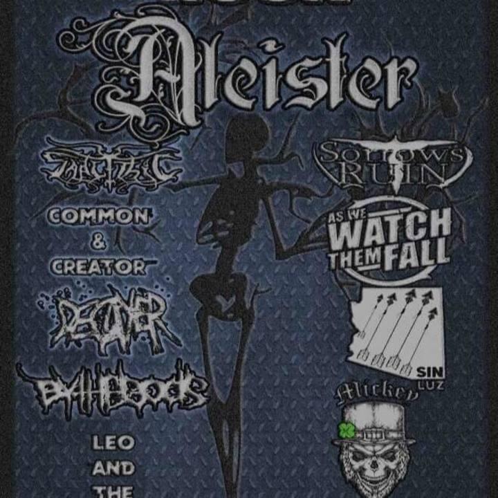 Aleister Tour Dates