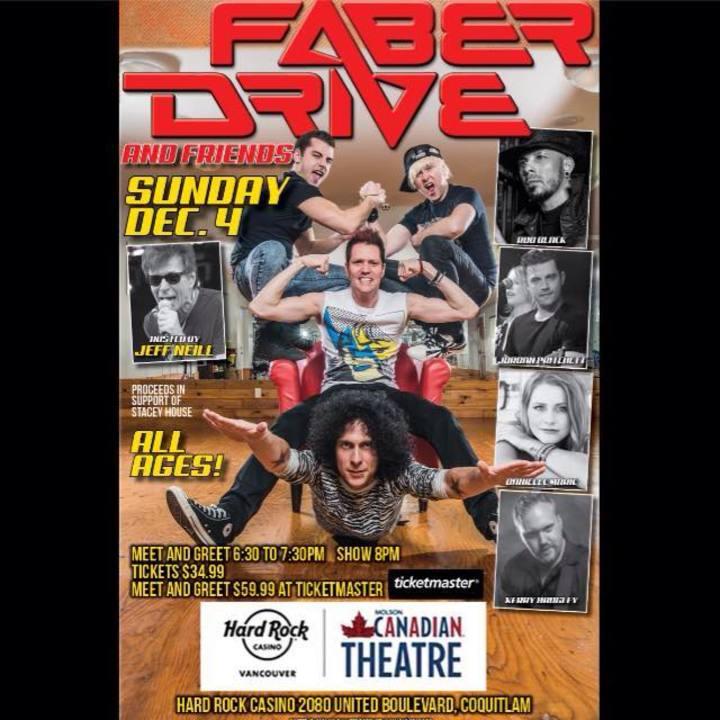 Faber Drive @ Hard Rock Casino Vancouver - Coquitlam, Canada