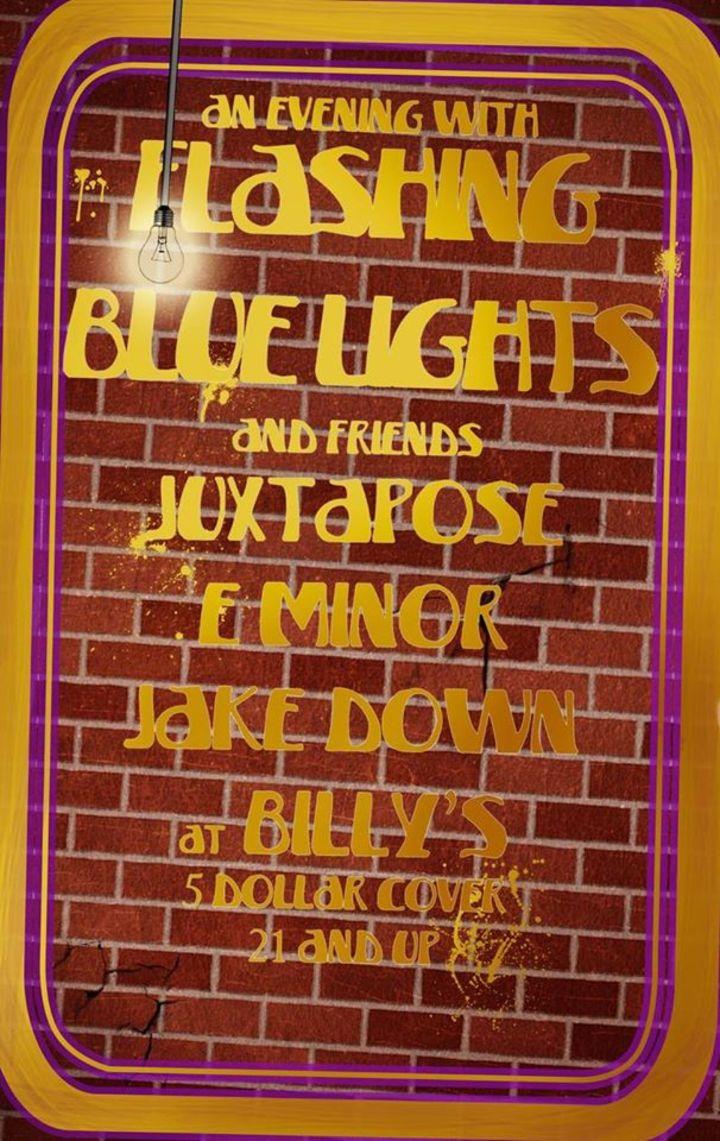 Flashing Blue Lights Tour Dates