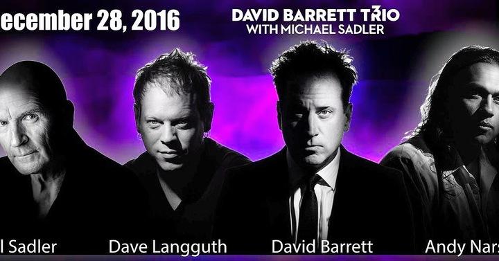 David Barrett Trio Tour Dates