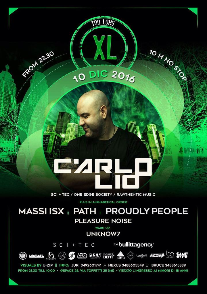 Massi ISX Official @ Too Long - Milan, Italy