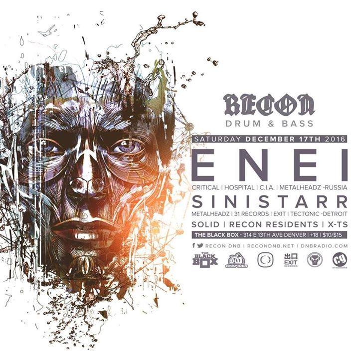 Recon DNB Tour Dates