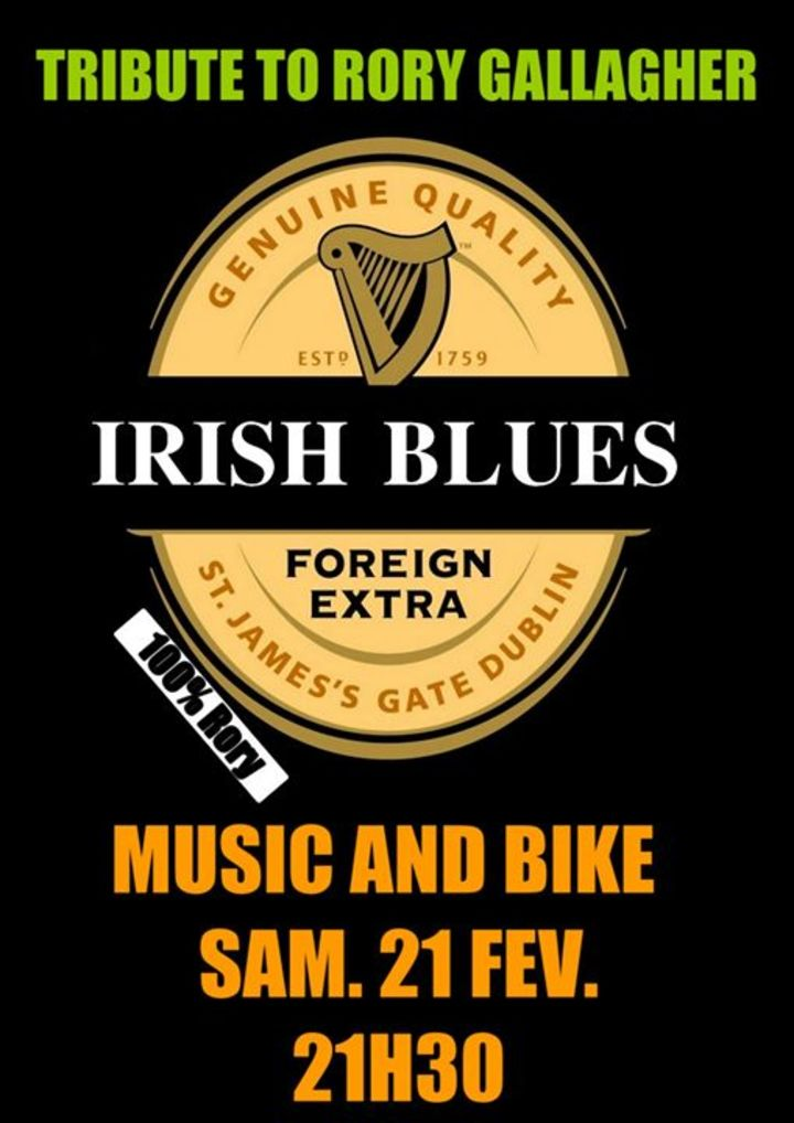 Irish Blues Tour Dates