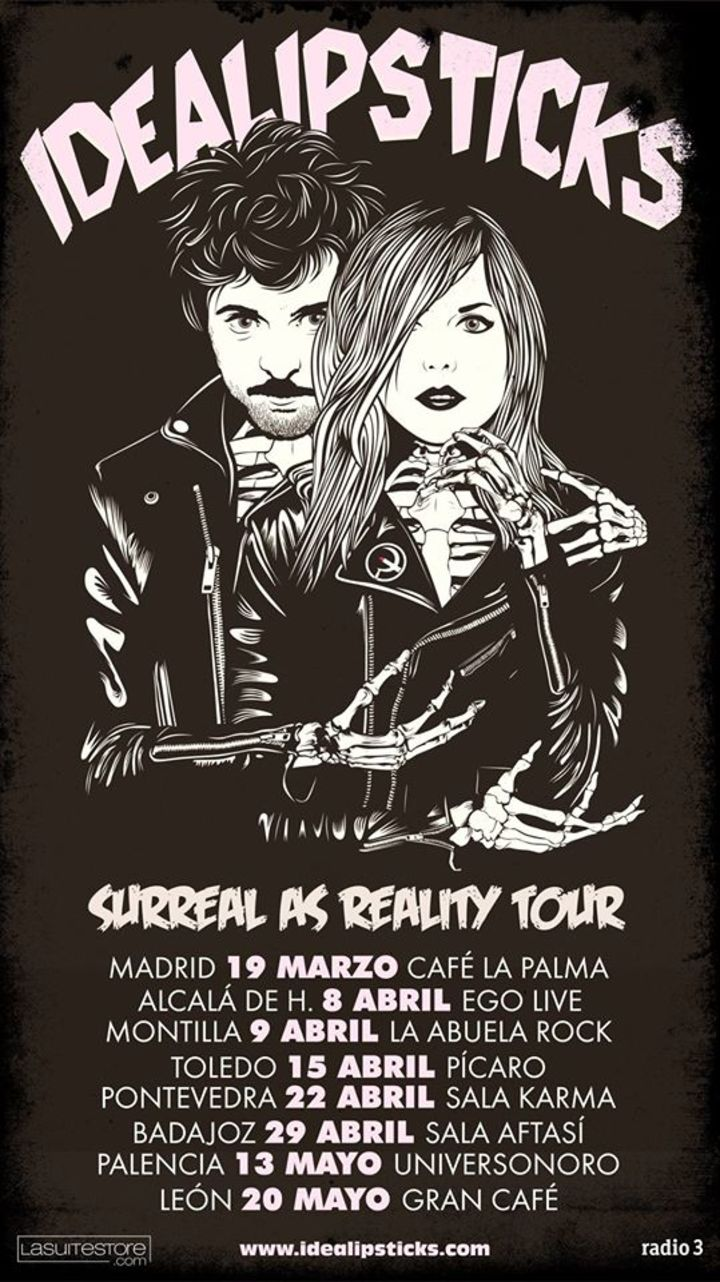 Idealipsticks Tour Dates