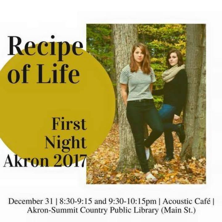 Recipe of Life Tour Dates