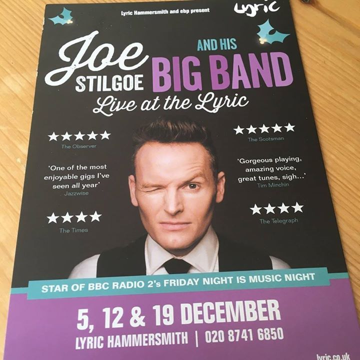 Joe Stilgoe @ LYRIC HAMMERSMITH - London, United Kingdom