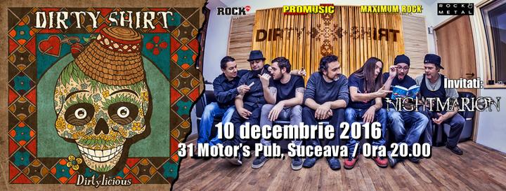 dirtyshirt @ 31 Motor's PUB - Suceava, Romania