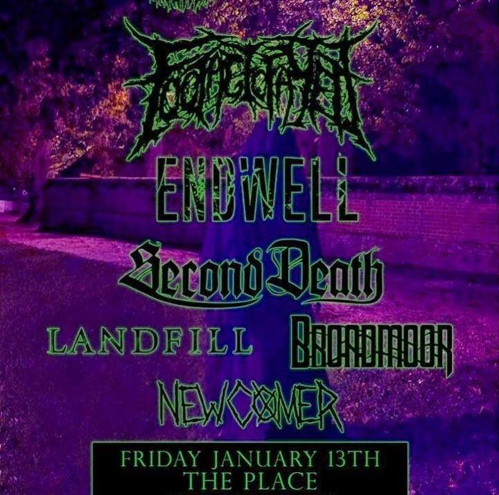 Endwell Tour Dates