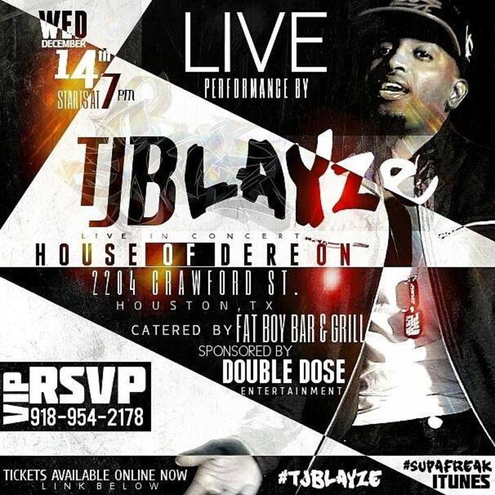 TJ Blayze Tour Dates
